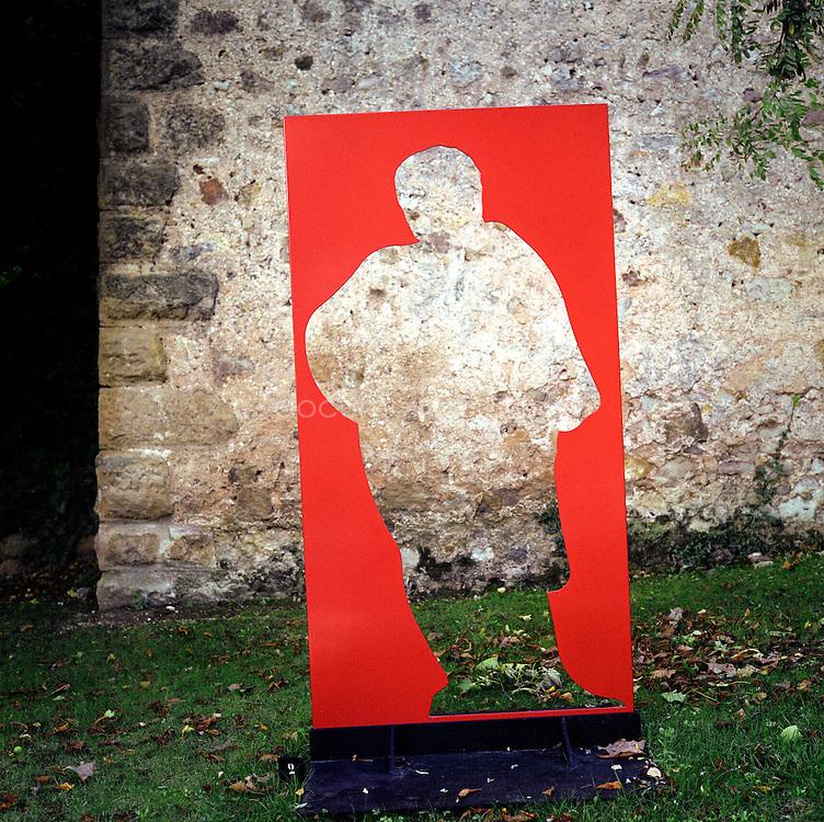 Bernard Teilland, homme d'affaire et amateur d'art, acceuille chaque année une exposition sur ses terres, ici des sculptures d'Arman, Chateau Sainte Roseline, Les Arcs-sur-Argens, France