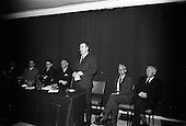 1966 - An Foras Forbatha Press Conference at Power's Hotel, Dublin