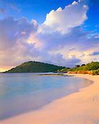 6211-1020 ~ Copyright: George H. H. Huey ~ Nonsuch Bay with Green Island.  East coast Antigua. Leeward Islands, Lesser Antilles, Caribbean.