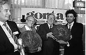 1986 - Bob Geldof Receives FAO Award.