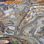 Aerial view of Quarries in Maryland.