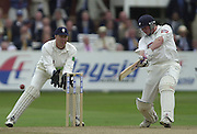 Photo Peter Spurrier.31/08/2002.Cheltenham & Gloucester Trophy Final - Lords.Somerset C.C vs YorkshireC.C..Yorkshire batting Antony McGrath