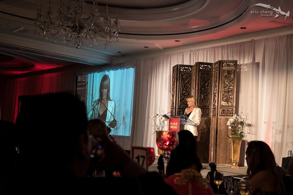Bo Derek; WildAid Gala, November 15, 2014