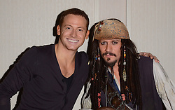 Joe Swash attends The London Taxi Drivers' Fund - Mad Hatter's Tea Party at Grosvenor House Hotel, Park Lane, London on Sunday 18 January 2015