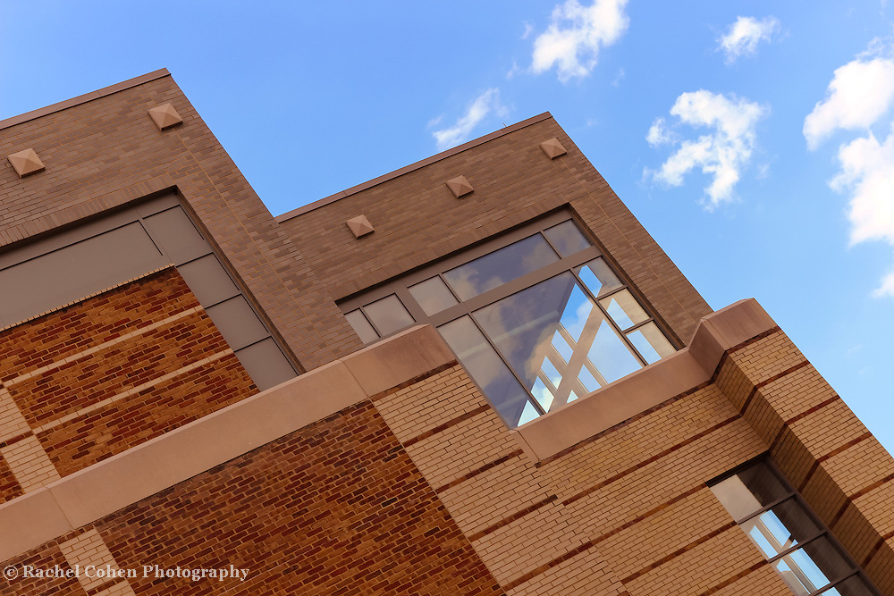 &quot;Window Treatment&quot;<br /> <br /> Beautiful angles, style, bricks and windows of the library at Eastern Michigan University!!<br /> <br /> Architecture: Structures and buildings by Rachel Cohen