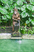 Buddha fountain, Jim Thompson House, Bangkok.