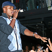 R&B Singer Ne-Yo Sings Live at his album release party May 2007