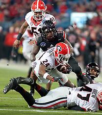 2014 Belk Bowl - Charlotte, NC (University of Georgia vs Louisville University)