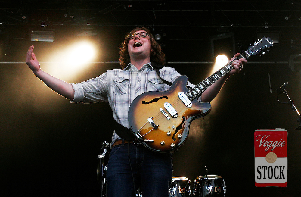 Tom Gray from British Band Gomez performs at the Great Escape music festival in Sydney, Sunday, April 8, 2007. The festival is in its second year and runs over the Easter long weekend. (AAP Image/Megan Young) NO ARCHIVING