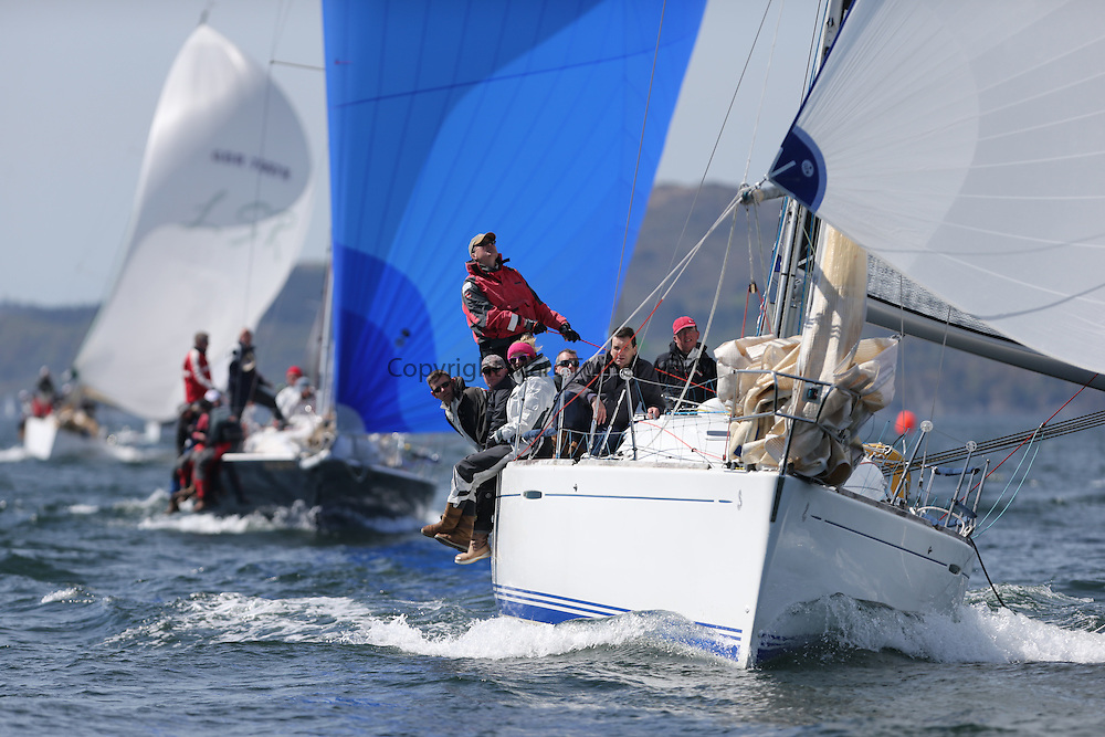 The Clyde Cruising Club's Scottish Series held on Loch Fyne by Tarbert. Day 2 racing in a perfect southerly<br /> <br /> IRL1666 ,Carmen II ,Jeffrey/Scutt ,CCC/HSC ,First 36.7