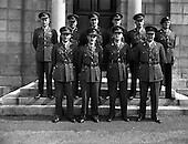 1958 - Army officers for peacekeeping duty in the Lebanon (3rd Batt) at GHQ