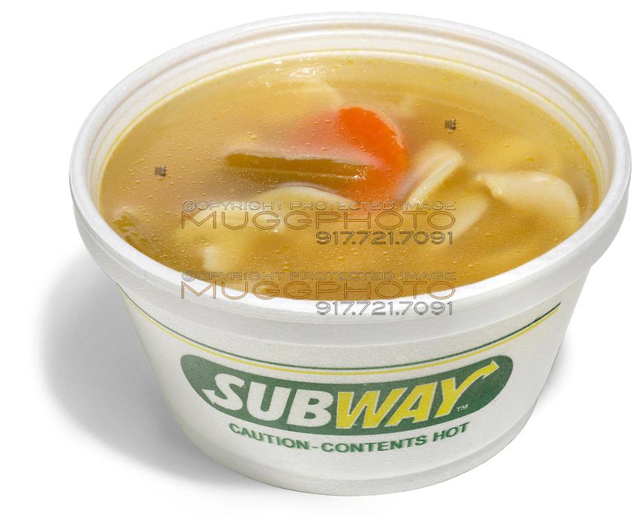 subway restaurant soup