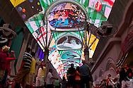 The Fremont Street Experience-Fremont Street,   Las Vegas, Nevada.