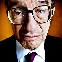 Alan Greenspan by Chris Maluszynski