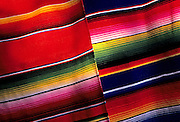 Image of Mexican blankets in Puerto Vallarta, Mexico