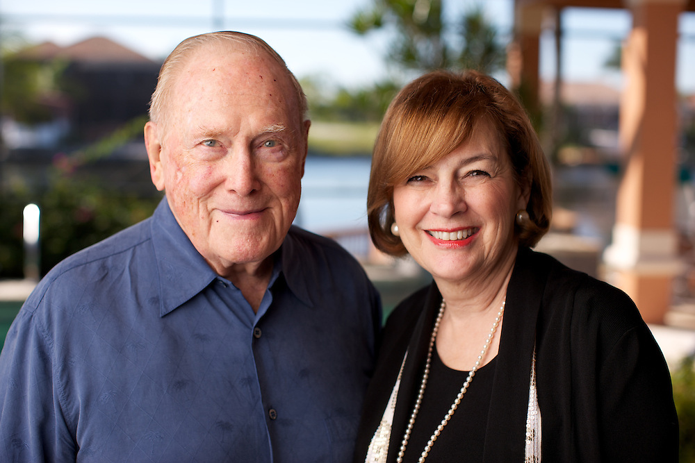 Herbert and Carolyn Conant.  Photo by Brian Tietz