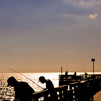 VENICE, FL - Venice Fishing Pier and Sharky's on the Pier. (Photo by Chip Litherland)