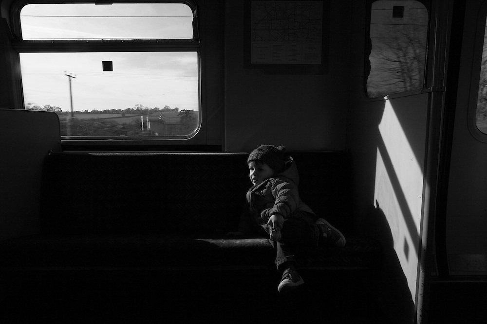 Joe on the train on his way to London in  Berkhamsted England Thursday, March 5, 2015 (Elizabeth Dalziel) #thesecretlifeofmothers #bringinguptheboys #dailylife