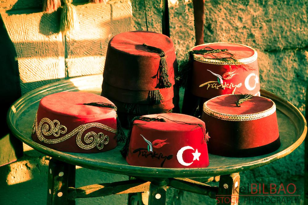 Gift shop. Uchisar. Cappadocia, Turkey.
