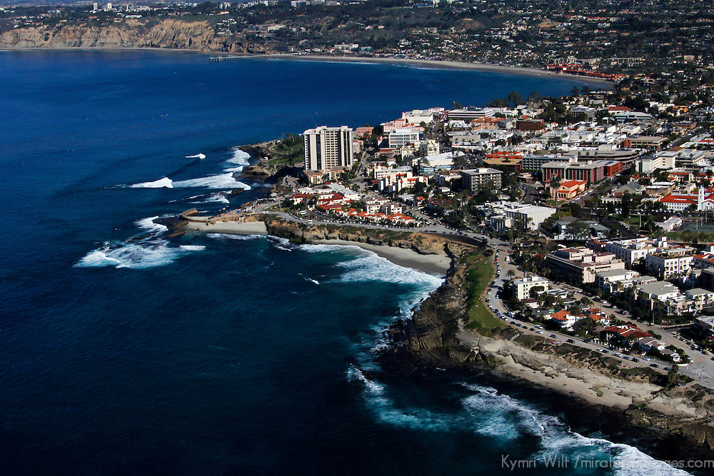 USA, California, San Diego. La Jolla Beaches & Coastline.
