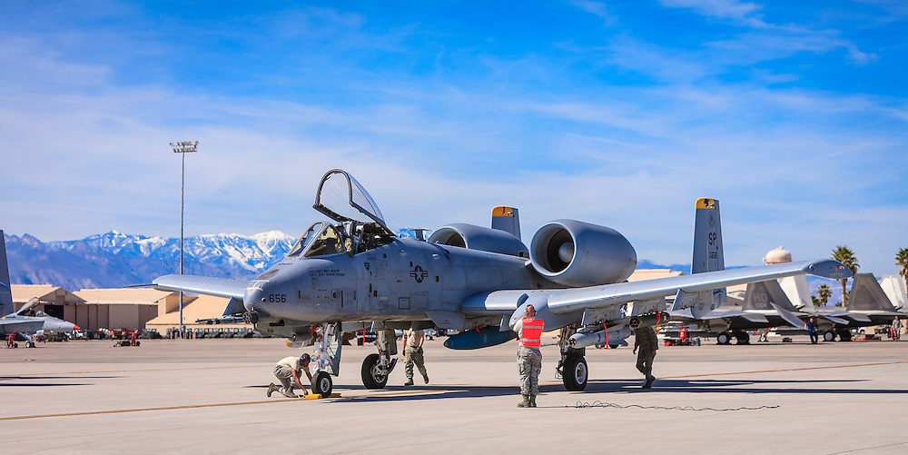 Created just prior to departure at Nellis Air Force Base, near Las Vegas, Nevada.