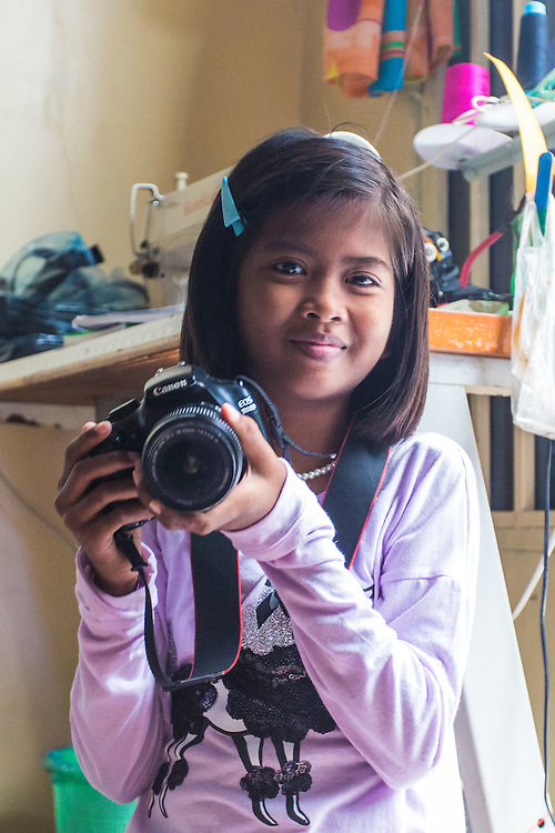 Nich, Lenational Photo Talk, 24th October 2015.<br /> <br /> Nich is a 12-year-old orphan with HIV living in Phnom Penh, Cambodia. Here she takes photos for the first time with Lensational.