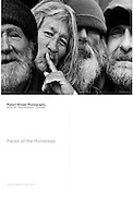 Faces of the Homeless Postcard