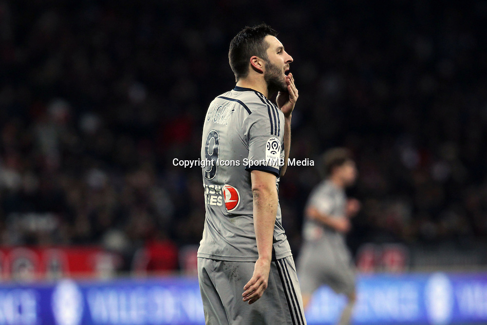 Andre Pierre GIGNAC  - 23.01.2015 - Nice / Marseille - 22eme journee de Ligue 1<br />