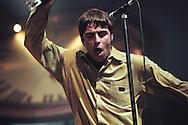 Oasis in Aberdeen, Scotland, in 1997..Rex 279153 JSU.