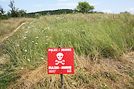 Many fileds in north Bosnia are still mined.<br /> July 11th will mark 20 years of anniversary of the genocide