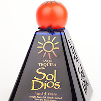 Sol Dios anejo -- Image originally appeared in the Tequila Matchmaker: http://tequilamatchmaker.com