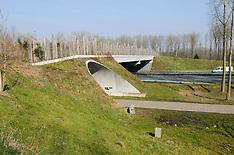 Ecoduct Het Groene Woud, Best, Noord Brabant, Netherlands