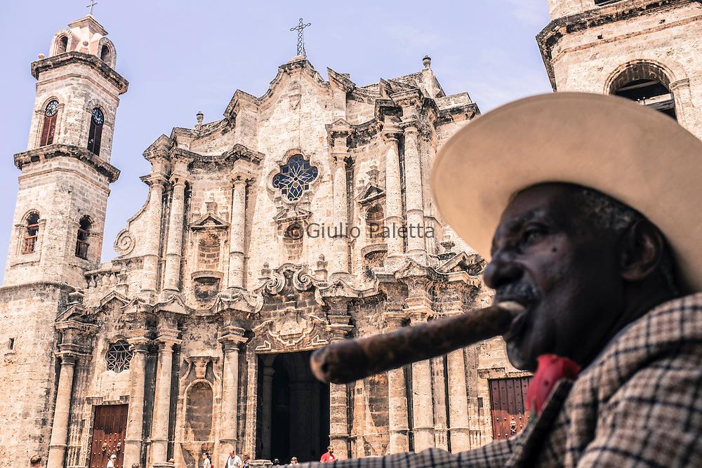 Cattedrale dell'Havana, nel centro storico Habana vieja
