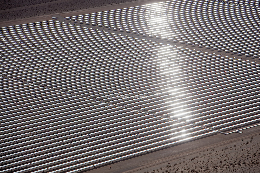 Nevada Solar One, a 400-acre, 64-megawatt plant, harnesses solar energy to power more than 14,000 homes every year. It is the third-largest concentrating solar power plant in the world and the first such plant built in 17 years.