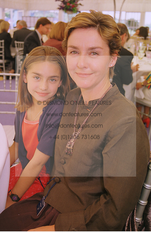 Photo of Amanda Burton & her Daughter  Brid Arnstein