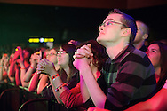 Fans during The Fray's headlining performance at the Pageant in St. Louis on May 8, 2012.