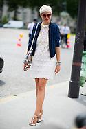 Elisa Nalin at Dior Couture