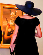 9-11-2016 AUCKLAND - King Willem-Alexander and Queen Maxima of The Netherlands visit the Auckland Art Gallery where they get to see the Lindauer collection in Auckland, New Zealand, 9 November 2016. The Dutch King and Queen are in New Zealand for an 3 day state visit. COPYRIGHT ROBIN UTRECHT koning willem alexander en koningin maxima brengen een 3 daags staatsbezoek aan nieuw-zeeland nieuw zeeland Rondleiding Auckland Art Gallery