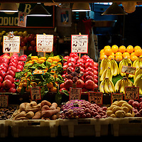 Farm Fresh produce is what the Farmer's market at Pike's place is all about!