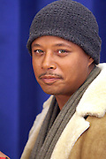 "Terrence Howard,  at "" Cat on a Hot Tin Roof "" Press conference announcing limited broadway run,  at Broad Hurst Theater on January 8, 2008 in New York City"