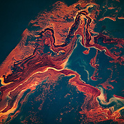 BP Deepwater Horizon oil spill, Gulf of Mexico, May, 2010.