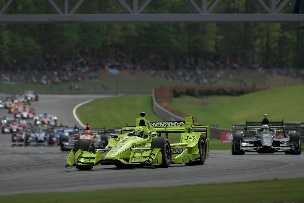 Simon Pagenaud, Honda Grand Prix of Alabama, Barber Motorsports Park, April 23, 2017, Birmingham, AL  USA