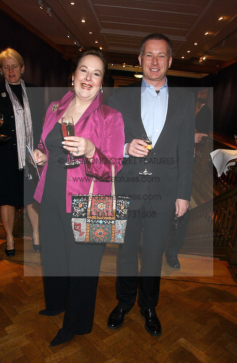 SHELLEY VON STRUNCKEL and SIMON MILLWARD at the Lighthouse Gala Auction in aid of the Terrence Higgins Trust held at Christie's, St.James's, London on 15th March 2006.<br /><br />NON EXCLUSIVE - WORLD RIGHTS