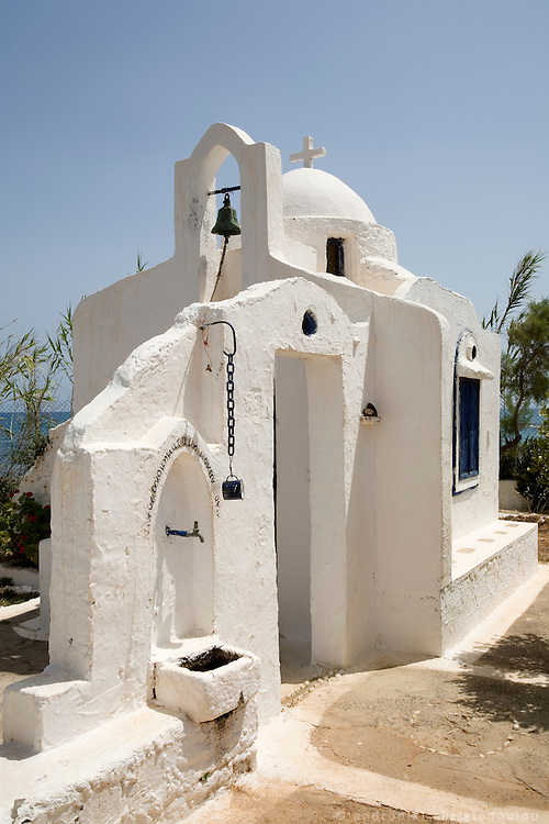 Small church, of style typical in the Greek countryside