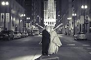 Nate & Stephanie Chicago Wedding Portraits
