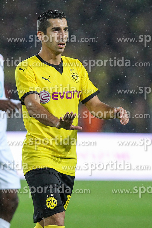 27.08.2015, Signal Iduna Park, Dortmund, GER, UEFA Euro Qualifikation, Borussia Dortmund vs Odd Grenland, Playoff, R&uuml;ckspiel, im Bild Henrikh &quot;Micki&quot; Mkhihtaryan (Borussia Dortmund #10) // during UEFA Europa League Playoff 2nd Leg match between Borussia Dortmund and Odd Grenland at Signal Iduna Park in Dortmund, Germany on 2015/08/27. EXPA Pictures &copy; 2015, PhotoCredit: EXPA/ Eibner-Pressefoto/ Schueler<br /> <br /> *****ATTENTION - OUT of GER*****