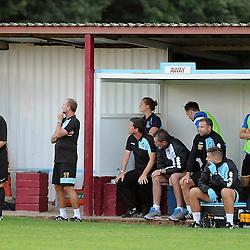 The bench - Photo mandatory by-line: Neil Brookman/JMP - Mobile: 07966 386802 - 15/07/2015 - SPORT - Football - Bristol - Cossham Stadium - Pre-Season Friendly