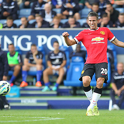 Manchester United's Robin Van Persie during the Barclays Premiership match between Leicester City FC and Manchester United FC, at the King Power Stadium, Leicester, 21st September 2014 © Phil Duncan | SportPix.org.uk