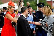 2-September 2013 , Wageningen,  Queen Maxima attends the opening ceremony  of the academic year of The Universty of Wageningen . COPYRIGHT ROBIN UTRECHT