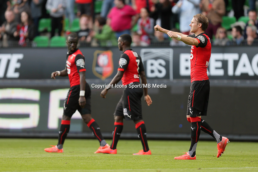 JOIE RENNES  / Ola TOIVONEN - 12.04.2015 - Rennes / Guingamp - 32eme journee de Ligue 1 <br />